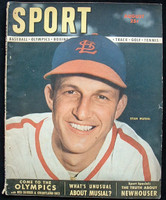 1948 Sport Magazine Stan Musial Very Good