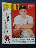 1955 Sport Magazine April Bob Turley Very Good