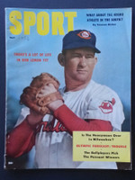 1956 Sport Magazine May Bob Lemon Very Good