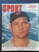 1957 Sport Magazine June Early Wynn Good to Very Good