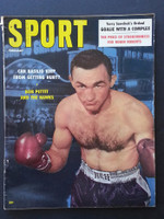 1958 Sport Magazine February Carmen Basillo Very Good