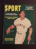 1958 Sport Magazine June Willie Mays Excellent