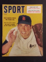 1958 Sport Magazine August Billy Martin Near-Mint