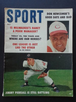 1959 Sport Magazine July Jimmy Piersall - Don Newcombe Very Good
