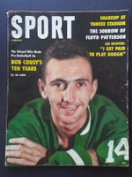 1960 Sport Magazine January Bob Cousy Very Good