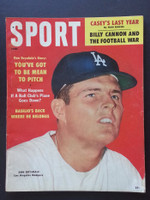 1960 Sport Magazine June Don Drysdale (First Cover) Very Good to Excellent
