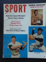 1960 Sport Magazine July Luis Aparicio - Frank Howard Very Good
