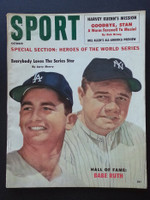 1960 Sport Magazine October Babe Ruth - Larry Sherry Very Good