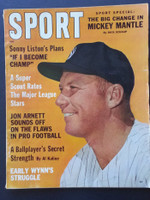 1962 Sport Magazine July Mickey Mantle Very Good