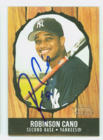 Robinson Cano AUTOGRAPH 2003 Bowman Heritage 1958 Hires Design Yankees 