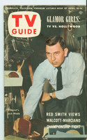 1953 TV Guide Apr 10 Jack Webb NY Metro edition Good to Very Good - No Mailing Label  [WRT on cover, comically defaced; lt wear, contents fine]