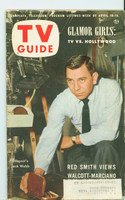 1953 TV Guide Apr 10 Jack Webb NY Metro edition Very Good to Excellent  [Scuffing and wear on cover, ow clean]