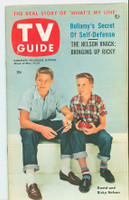 1953 TV Guide May 15 Ricky and David Nelson Philadelphia edition Very Good to Excellent - No Mailing Label  [Very lt wear on front cover, very clean; back cover toned and creased]