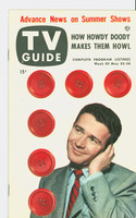 1953 TV Guide May 22 Red Buttons Mid States edition Near-Mint  [Very clean example]