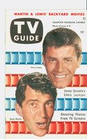 1953 TV Guide Jun 5 Dean Martin and Jerry Lewis Mid States edition Near-Mint  [Very clean example; label stamped on reverse]