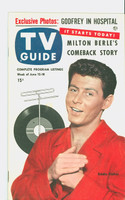 1953 TV Guide Jun 12 Eddie Fisher Mid States edition Near-Mint  [Very clean example; label stamped on reverse]