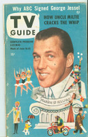 1953 TV Guide Jun 19 Ed Sullivan NY Metro edition Very Good  [Wear on both covers; contents fine, label on reverse]