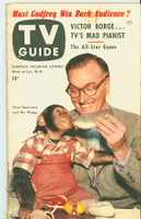1953 TV Guide Jul 10 Dave Garroway NY Metro edition Very Good  [Wear on both covers; contents fine, label on reverse]