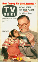 1953 TV Guide Jul 10 Dave Garroway of the Today Show Philadelphia edition Very Good to Excellent - No Mailing Label  [Toning along binding, lt wear; contents fione]