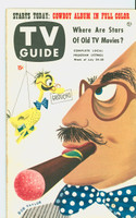 1953 TV Guide Jul 24 Groucho Marx Washington-Baltimore edition Excellent to Mint - No Mailing Label  [Very clean example; period markings on rev cover and listings]