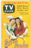 1953 TV Guide Aug 21 Super Circus Washington-Baltimore edition Very Good - No Mailing Label  [Lt stray WRT in pencil on cover; lt wear on binding; contents fine]