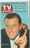 1953 TV Guide Nov 6 Warren Hull NY Metro edition Excellent to Mint  [Very clean example; label stamped on reverse]