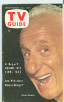 1953 TV Guide Nov 13 Jimmy Durante Chicago edition Near-Mint - No Mailing Label  [Very clean example]