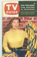 1953 TV Guide Nov 27 Life of Riley NY Metro edition Very Good to Excellent  [Heavy toning along binding; contents fine, label on reverse]
