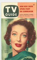 1953 TV Guide Dec 4 Loretta Young Detroit edition Excellent to Mint  [Very clean example; label on reverse]