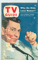 1953 TV Guide Dec 11 Jack Webb Philadelphia edition Fair to Good - No Mailing Label  [Moisture resulting in cover damage, ow contents fine]