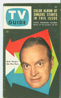 1953 TV Guide Dec 18 Bob Hope Mid States edition Excellent  [Very clean example; label stamped on reverse]