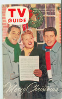 1953 TV Guide Dec 25 Christmas Special : Como, Fisher, Page Chicago edition Near-Mint  [Very clean example; label on reverse]