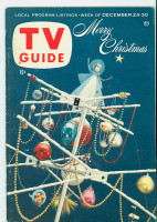 1955 TV Guide Dec 24 Merry Christmas Colorado edition Excellent to Mint - No Mailing Label  [Very lt wear on cover, ow very clean]