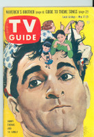 1958 TV Guide May 17 Danny Thomas Washington-Baltimore edition Excellent - No Mailing Label  [Very lt wear on cover, ow very clean]