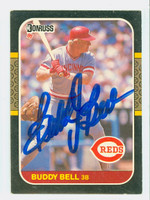 Buddy Bell AUTOGRAPH 1987 Donruss  