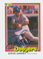 Steve Garvey AUTOGRAPH 1981 Donruss #176 Dodgers 