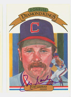 Toby Harrah AUTOGRAPH 1983 Donruss Diamond King #13 Indians 