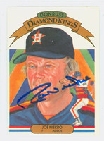 Joe Niekro AUTOGRAPH d.06 1983 Donruss Diamond King #10 Astros 