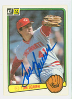 Tom Seaver AUTOGRAPH 1983 Donruss #122 Reds 
