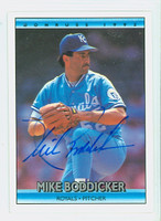 Mike Boddicker AUTOGRAPH 1992 Donruss Royals 