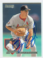 Bryan Eversgerd AUTOGRAPH 1995 Donruss Cardinals 
