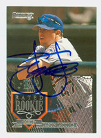 Jason Jacome AUTOGRAPH 1995 Donruss Mets 