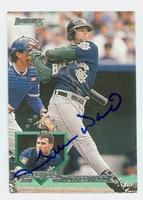 Turner Ward AUTOGRAPH 1995 Donruss Brewers 