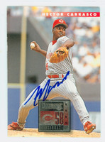 Hector Carrasco AUTOGRAPH 1996 Donruss Reds 