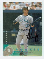 Todd Dunwoody AUTOGRAPH 1997 Donruss Marlins 