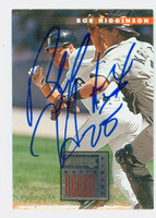 Bobby Higginson AUTOGRAPH 1996 Donruss Tigers 