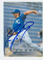 Jose Rosado AUTOGRAPH 1997 Donruss Royals 