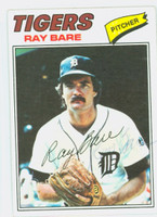 Ray Bare AUTOGRAPH d.94 1977 Topps #43 Tigers   [SKU:BareR9616_T77BB]