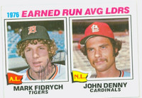 Mark Fidrych AUTOGRAPH d.09 1977 Topps Era Leaders #7 Tigers 