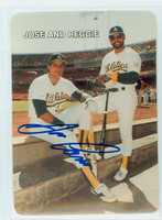 Jose Canseco AUTOGRAPH 1987 Mother's Cookies Athletics 